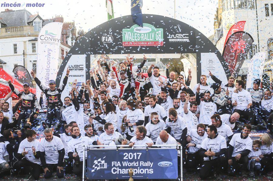 Ford WRC Marcas 2017