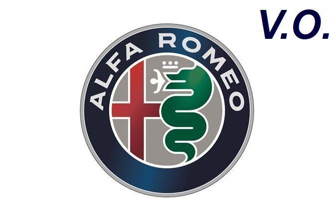 Logo marca alfa romeo