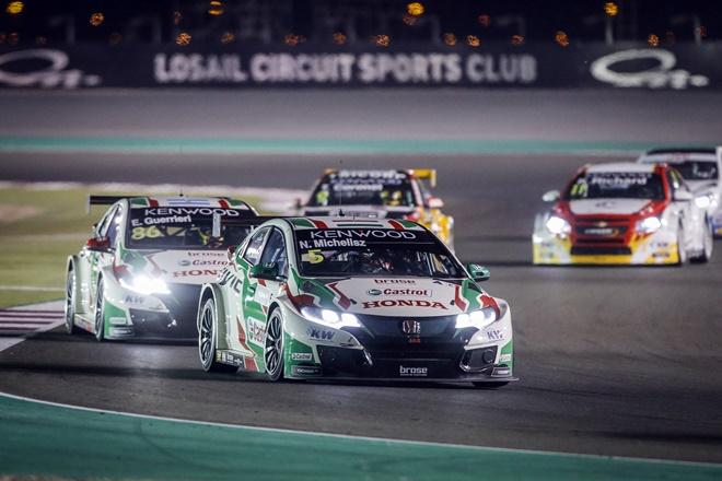 WTCC Qatar Michelisz Honda Civic