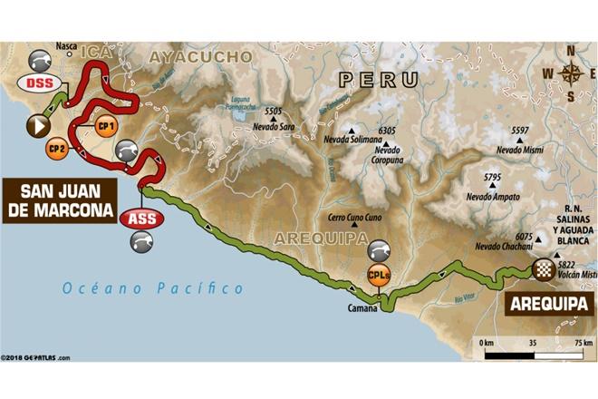 Dakar 2018 etapa 5