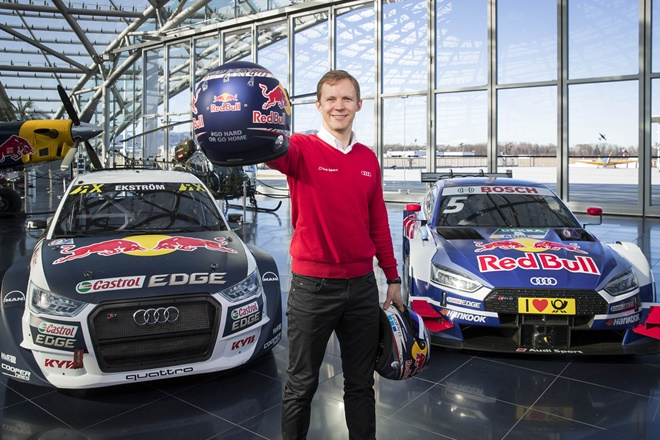 Mattias Ekstroom DTM rallyecross audi eks
