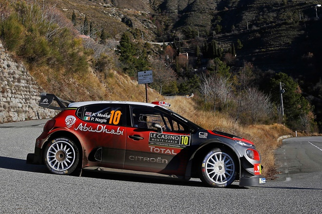 Meeke Citroën C3 WRC Monte carlo