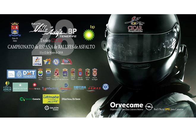 ► Rallye Adeje: Lucha al segundo en Tenerife entre Ares, Fuster y Suárez
