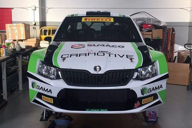 Rallye Paracuellos RaceSeven Fabia R5
