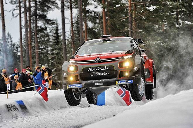 Rallye Suecia Craig Breen C3