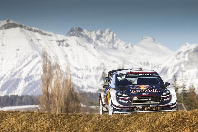 ford fiesta WRC Ogier