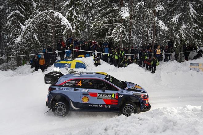 rallye suecia 2018 mikkelsen i20 wrc