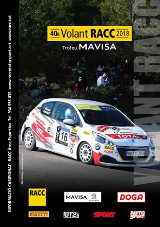 volant racc 2018 cartel