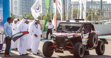 Abu Dhabi Desert Challenge salida Pena polaris cross country