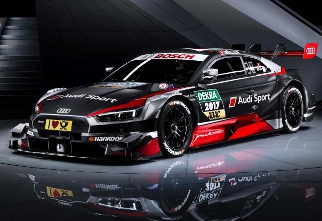 Fombona con Audi A5 DTM en el Campeonato de España de Montaña