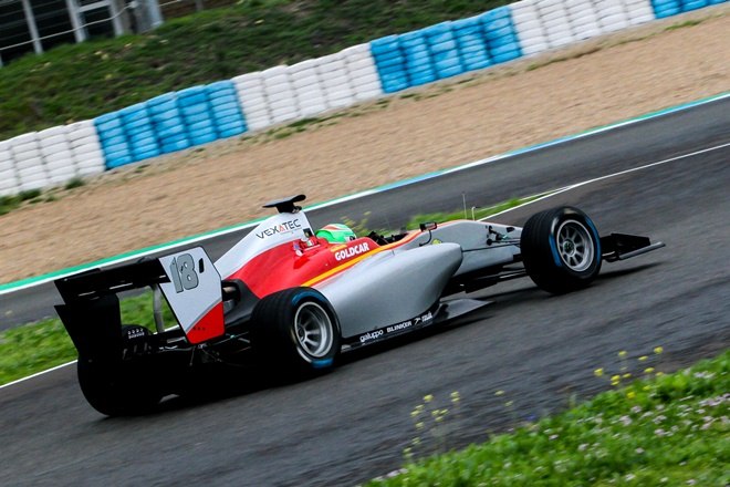 GP3 Pulcini campos racing jerez test
