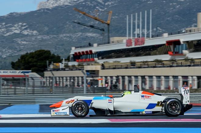 Paul Ricard 1 test viscaal f3 euroformula