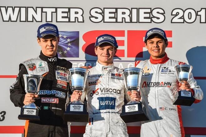 Paul Ricard test viscaal f3 euroformula podio