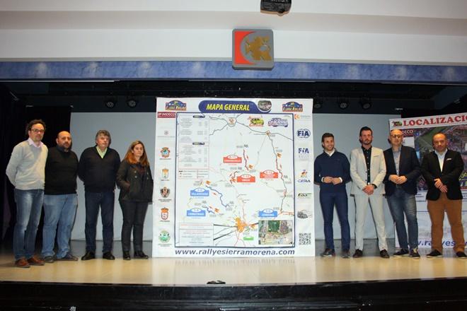 Presentado el Rallye Sierra Morena y presentados los tramos