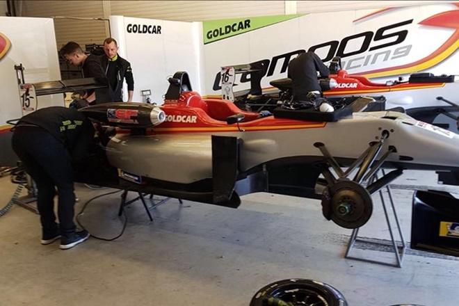 Siebert Jerez test euroformula