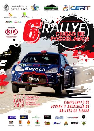 cartel rallye pozoblanco 2018