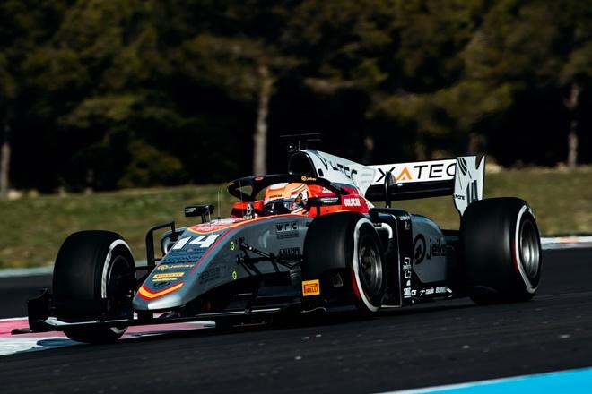 f2 campos racing test