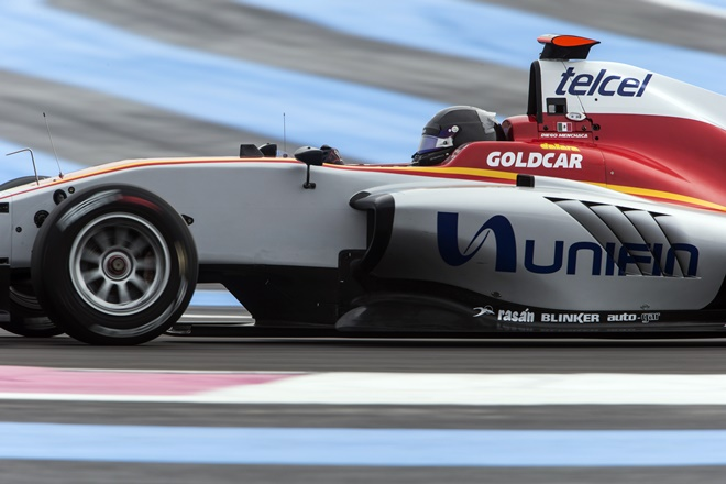 gp3 campos racing test