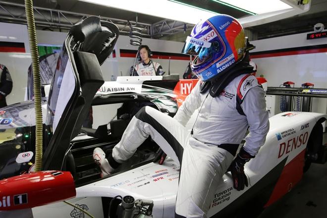 Alonso WEC Toyota