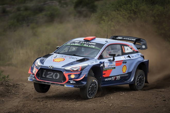 Argentina Sordo Hyundai i20 wrc 2