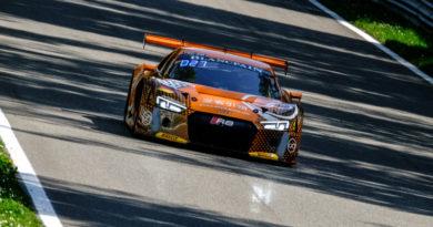 Blancpain GT Monza Forne Audi R8 LMS