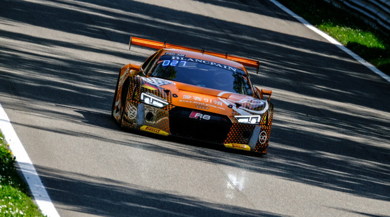 Blancpain GT Monza Forne Audi R8 LMS
