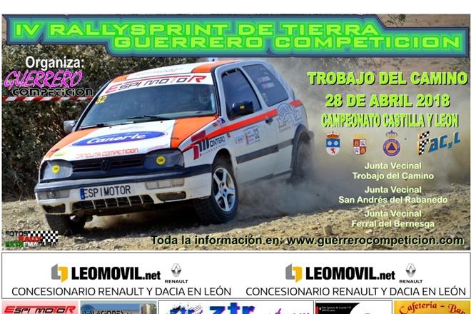 CARTEL RS Guerrero competición ABRIL 18