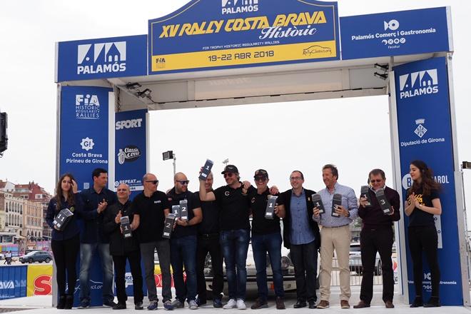Costa brava historicos 2018 podio