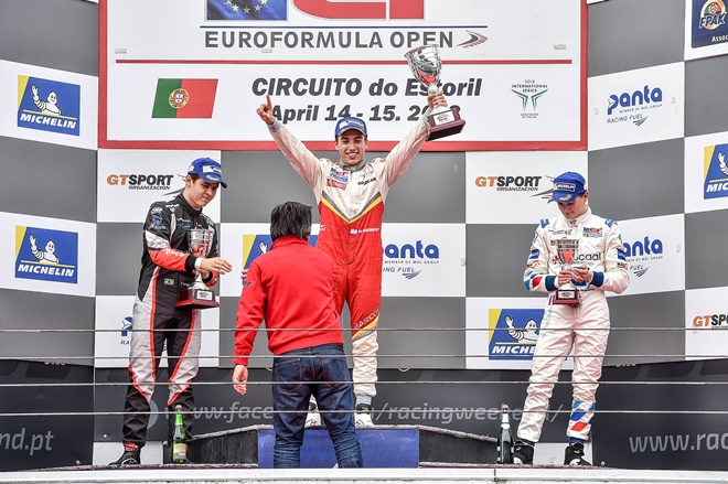 EF Open podio siebert campos racing estoril
