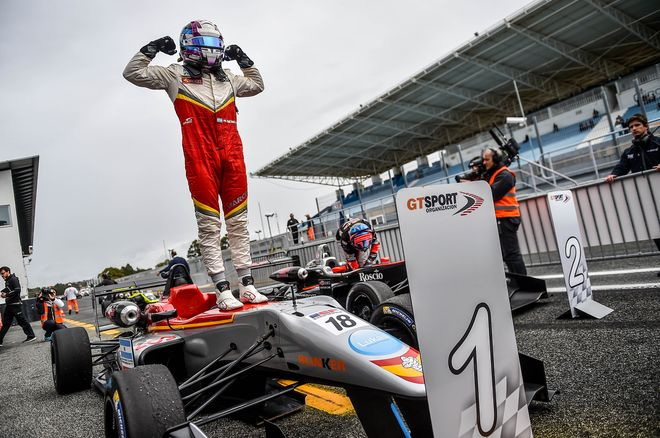 Euroformula Open Estoril Marcos Siebert