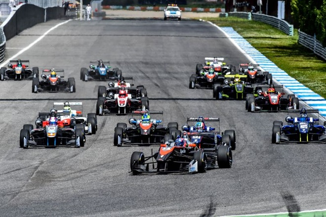 Euroformula estoril salida 1