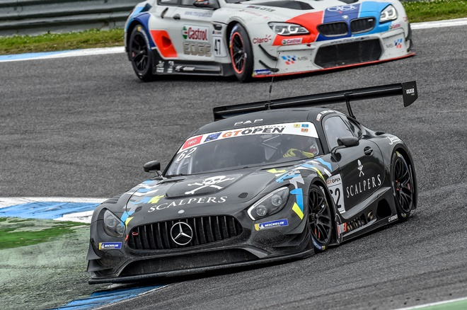 GT Open Estoril Drivex Mercedes AMG GT3 Hahn-Khodair
