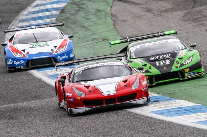 GT Open Estoril Guidi-Mac Ferrari 488