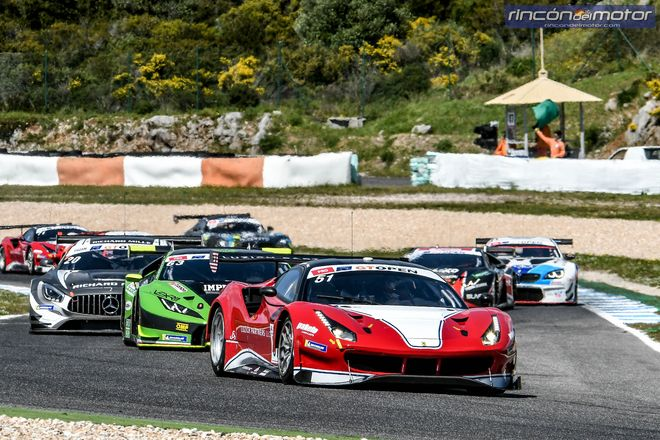 GT Open Estoril Guidi-Mac Ferrari 488 GT3