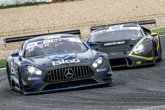 GT Open Estoril Hahn-Khodair Mercedes AMG ProAM