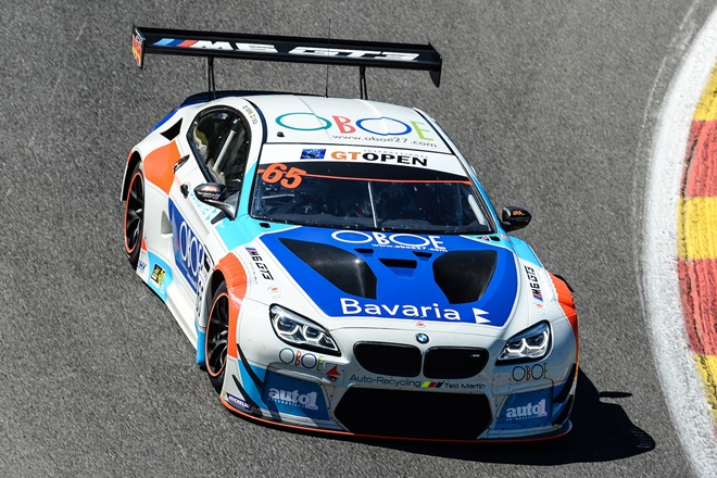 Lourenço Beirão y Juan Cruz Álvarez disputarán el International GT Open con BMW Team Teo Martín