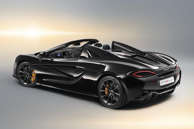 """McLaren 570S Spider, 5 propuestas de acabado en las nuevas """"Design Edition"""""""