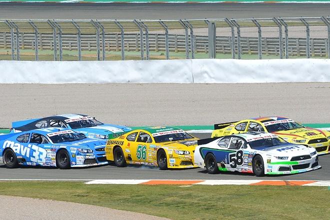 NASCAR Tineo podio
