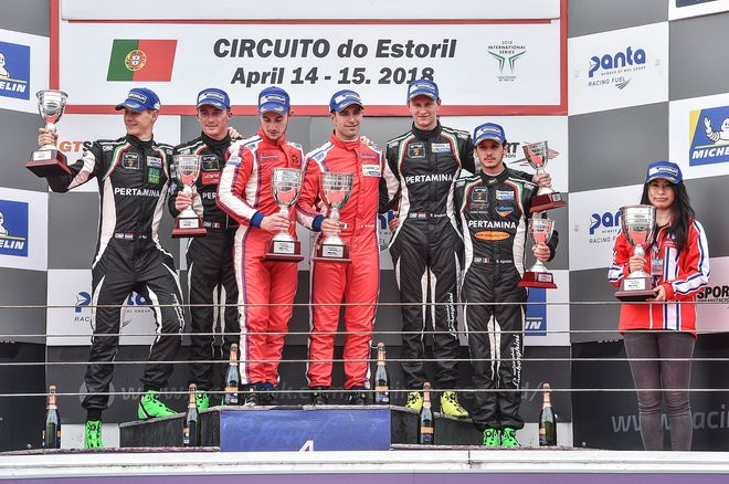 Podio GT Open Estoril domingo