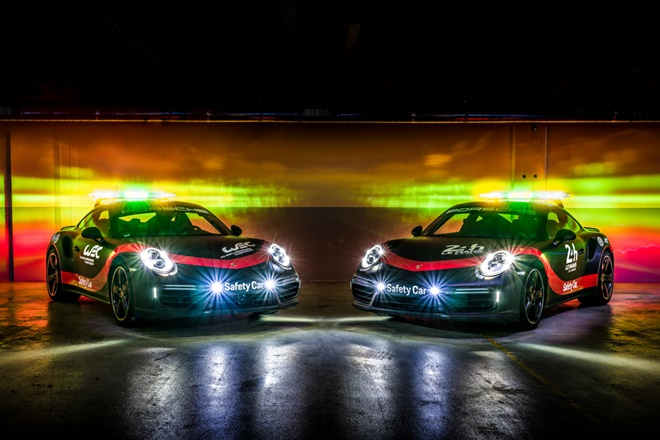 Porsche coches apoyo WEC