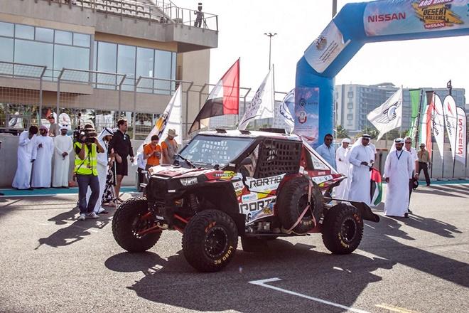 Qatar Rally Salida Abu Dhabi
