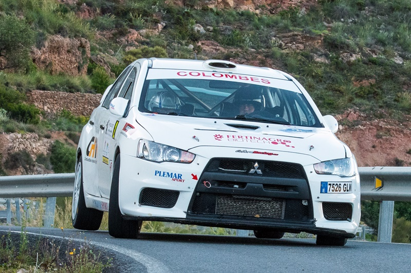 Rallye Almeria David EvoX