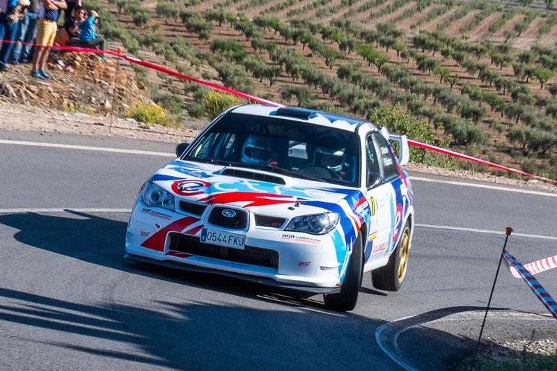 Rallye Almeria Martin Subaru Impreza