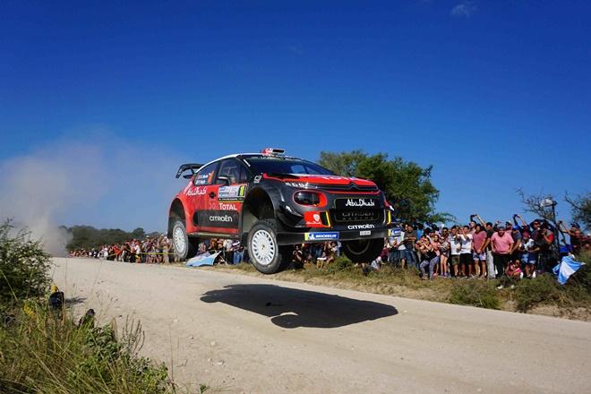 Rallye Argentina WRC meeke citroen C3