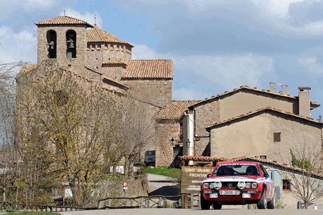 Rallye Costa Brava Historicos Fortuny-Jiménez Lancia Beta