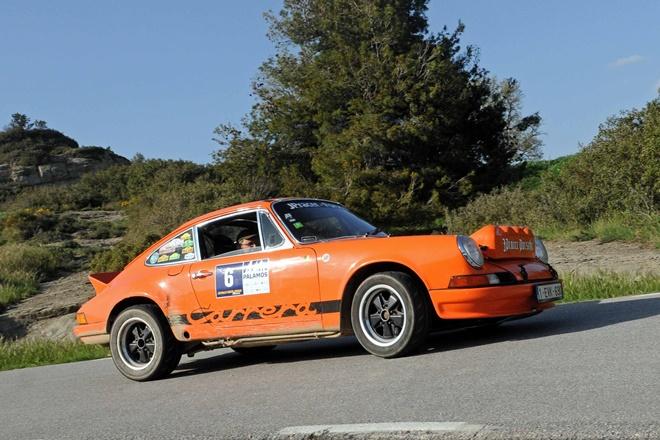 Rallye Costa Brava Historrico Deflandre-Lambert Porsche 911