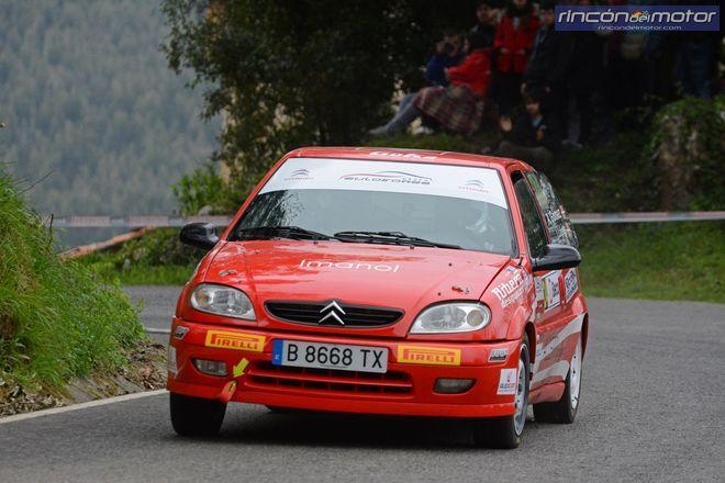 Rallye Guriezo Saxo Cup 2 Clasificado Adrian Gomez