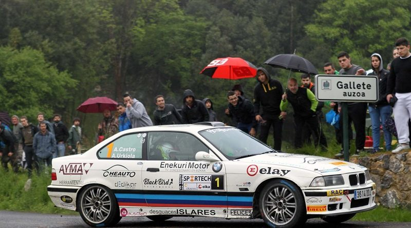 Rallye Lea Artibai Castro BMW