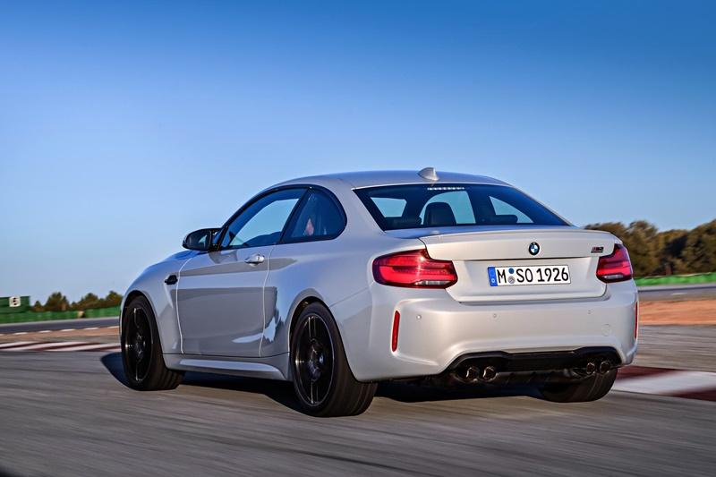 Nuevo BMW M2 con más potencia y apellido Competition