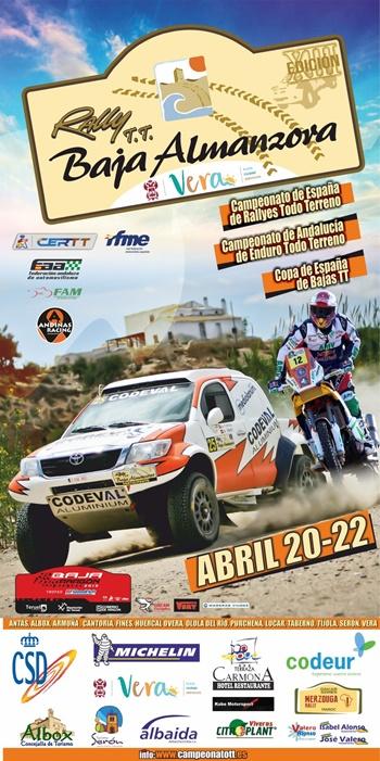 cartel rallye TT Almanzora 2018
